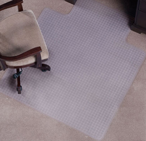 Checkered Pattern Designer Chair Mats