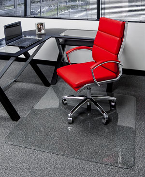 Glass Desk Chair Mats