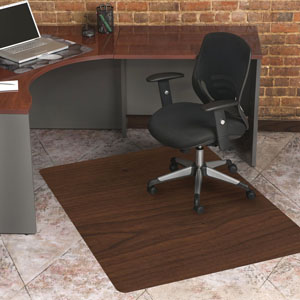 Laminate Wood Design Chair Mats